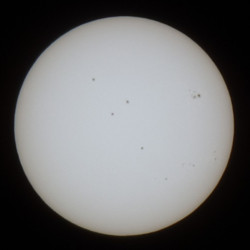 sunspots - image stacking